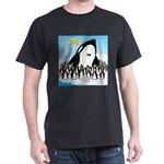Orca with Penguins Dark T-Shirt