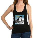 Orca with Penguins Racerback Tank Top