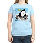 Orca with Penguins Women's Classic T-Shirt