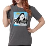 Orca with Penguins Womens Comfort Colors® Shirt