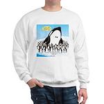 Orca with Penguins Sweatshirt