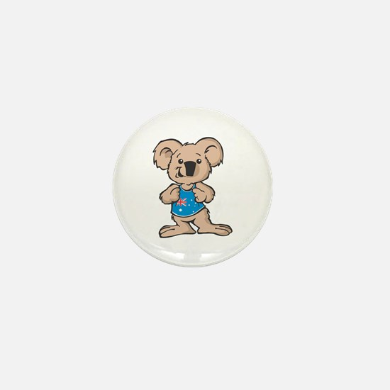 Australian Koala Mini Button