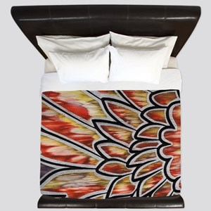 Phoenix Wing (V) King Duvet