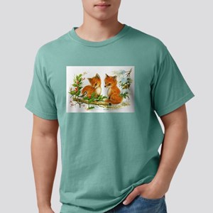 Vintage Winter Red Fox T-Shirt