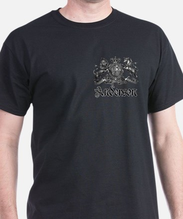 Anderson Vintage Crest Family Name T-Shirt