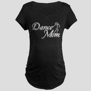 Dance Moms Love their Dancers Maternity Dark T-Shi