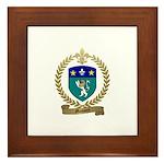 MASSARD Family Crest Framed Tile