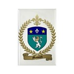 MASSARD Family Crest Rectangle Magnet (100 pack)