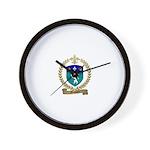 MASSARD Family Crest Wall Clock