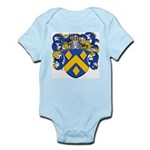 Bode Family Crest Infant Creeper