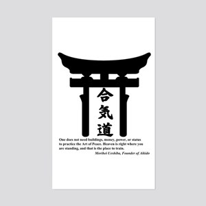 Torii 1 Rectangle Sticker