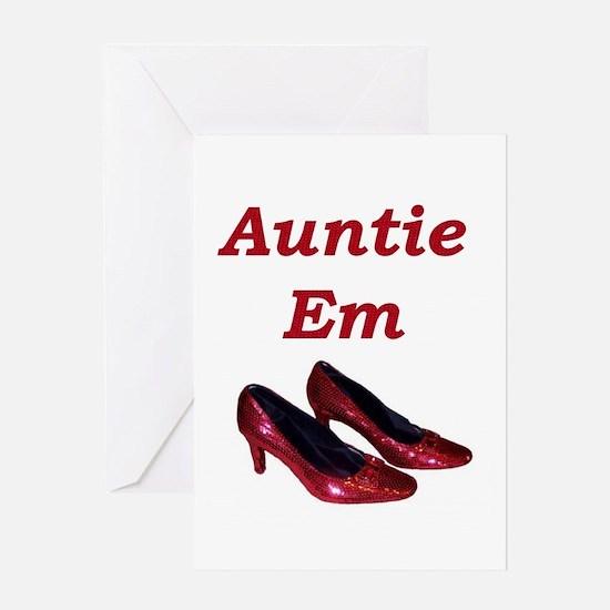 Auntie Em Greeting Card