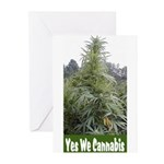 Yes We Cannabis Greeting Cards (Pk of 10)