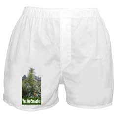 Yes We Cannabis Boxer Shorts