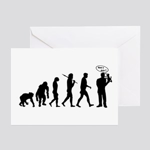 Ventriloquist Greeting Cards (Pk of 20)