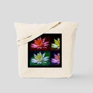 Lotus Flower Art Tote Bag