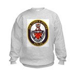 USS LEWIS B. PULLER Kids Sweatshirt