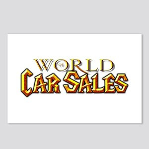 World of Car Sales Postcards (Package of 8)