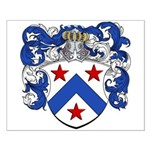 Bont Family Crest Small Poster