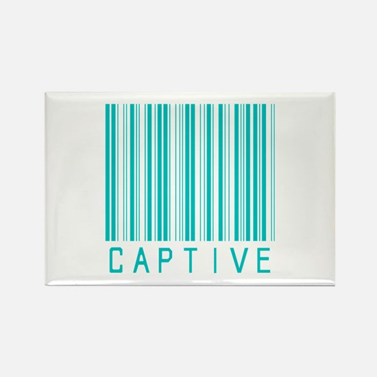 Captive Rectangle Magnet