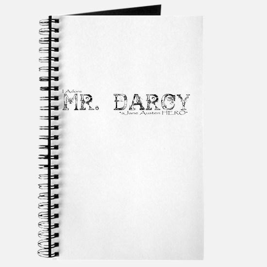 Mr Darcy Hero Journal