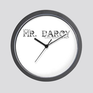 Mr Darcy Hero Wall Clock