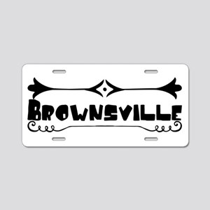 Brownsville Aluminum License Plate