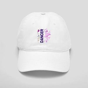 Cute Pink and Purple Ballet D Cap