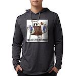 Men's Texas Cavy Round Up Long Sleeve T-Shirt
