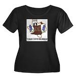 Women's Texas Cavy Round Up Plus Size T-Shirt