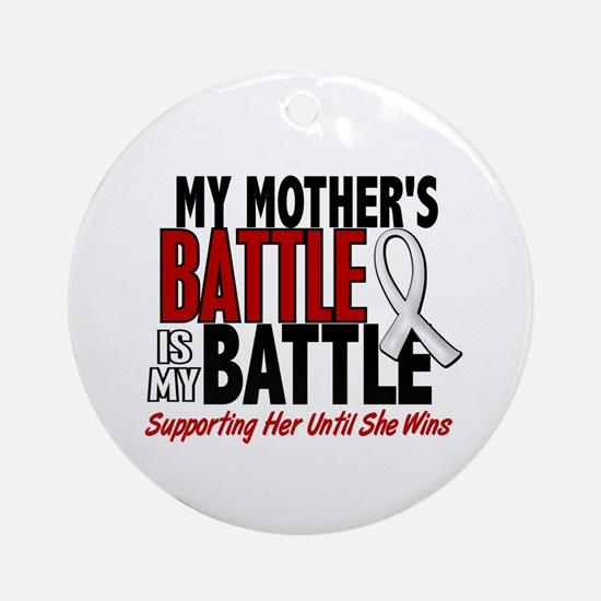 My Battle Too 1 PEARL WHITE (Mother) Ornament (Rou