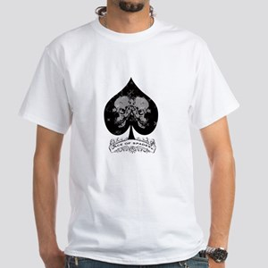 Ace of Spades White T-Shirt