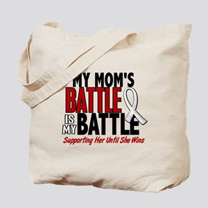My Battle Too 1 PEARL WHITE (Mom) Tote Bag