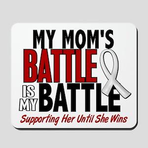 My Battle Too 1 PEARL WHITE (Mom) Mousepad