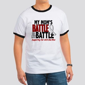 My Battle Too 1 PEARL WHITE (Mom) Ringer T
