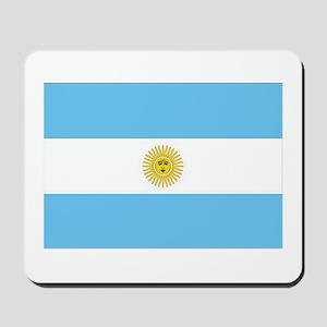 Bandera de Argentina Mousepad