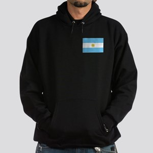 Bandera de Argentina Hoodie (dark)