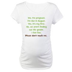 Custom - Suprise August Baby Shirt