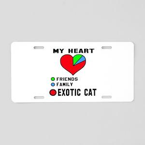 My Heart Friends, Family, E Aluminum License Plate