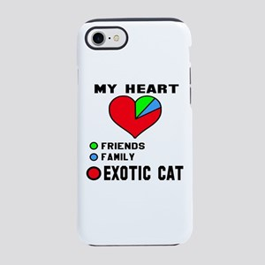 My Heart Friends, Family, Ex iPhone 8/7 Tough Case