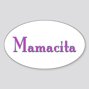 Mamacita Oval Sticker