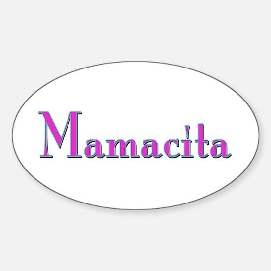 Mamacita Oval Decal