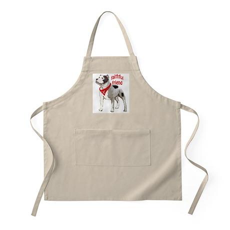pitbull friend BBQ Apron