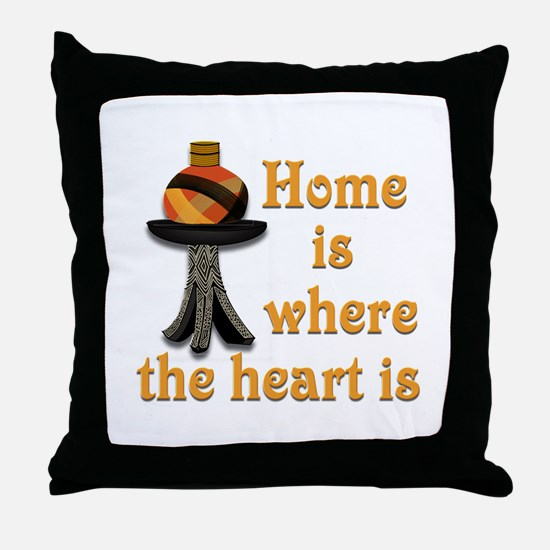 Home is where the heart is #2 Throw Pillow
