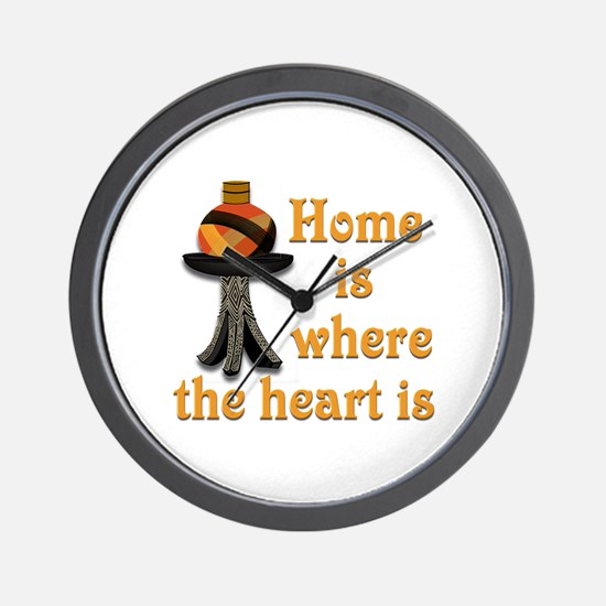 Home is where the heart is #2 Wall Clock