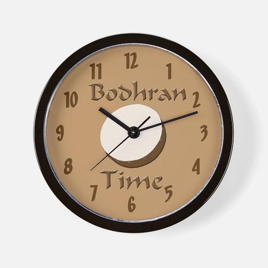 Funny bodhran Wall Clock