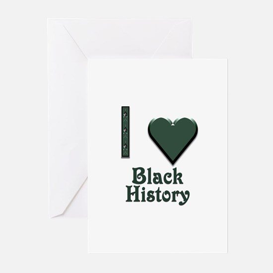 I Love Black History Greeting Cards (Pk of 20)