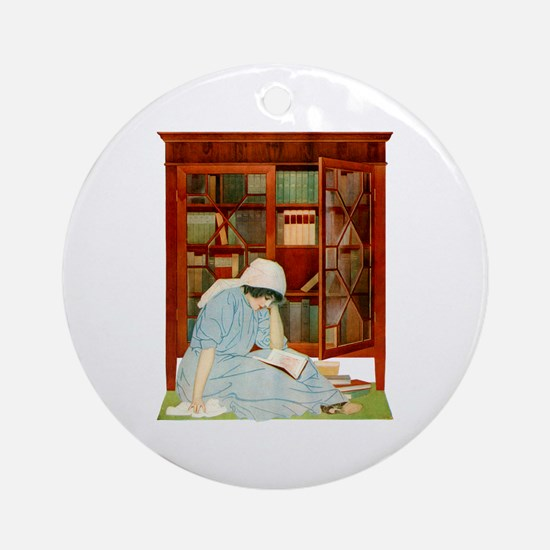LOST HORIZONS by Coles Phillips Ornament (Round)
