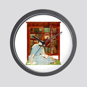 LOST HORIZONS by Coles Phillips Wall Clock