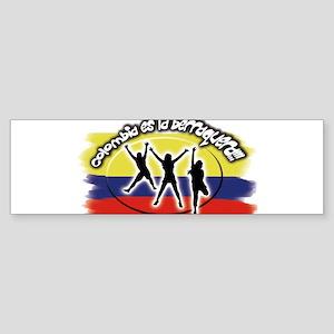 Colombia es la berraquera Bumper Sticker